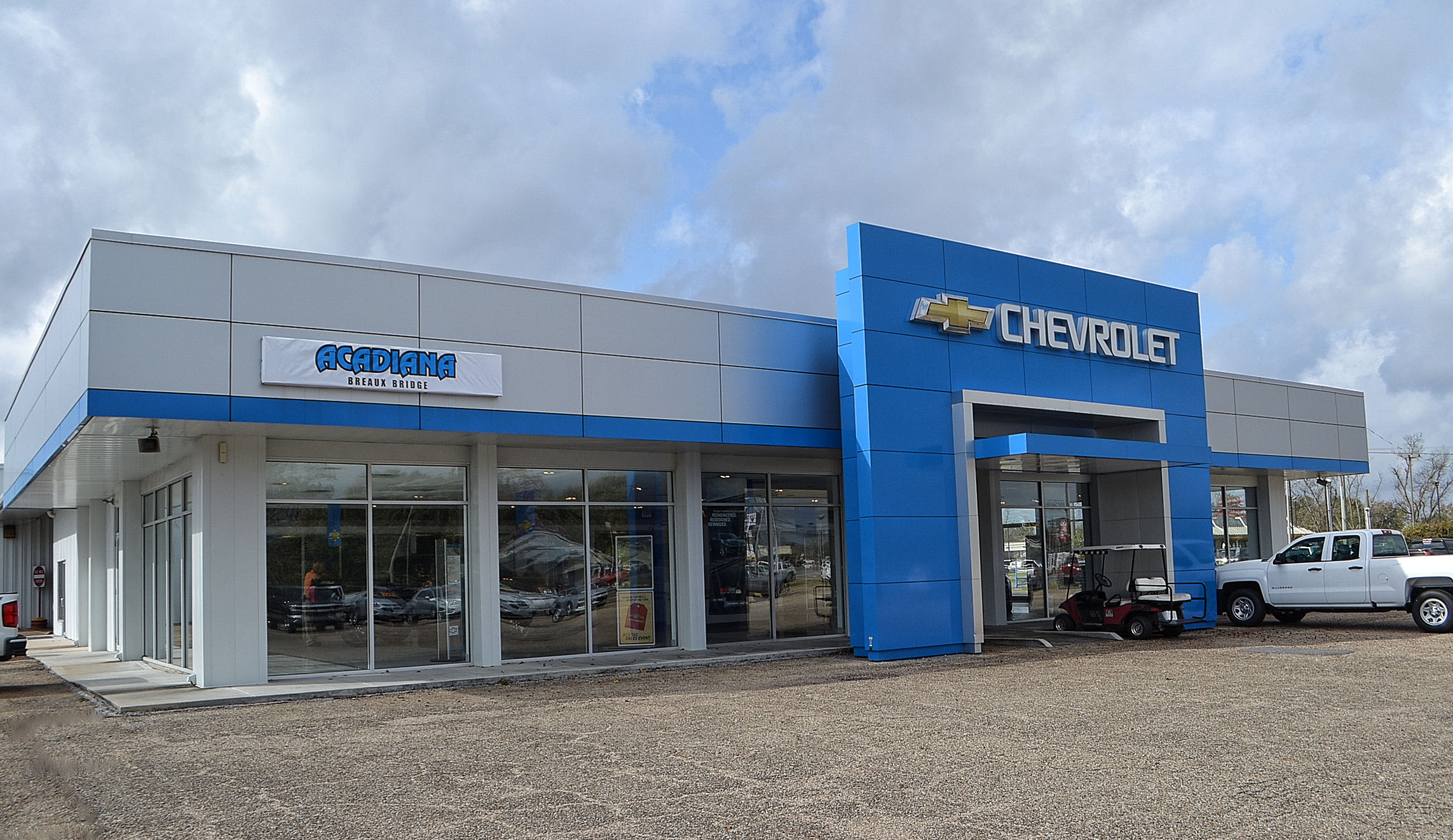 THE NEW ACADIANA CHEVROLET BREAUX BRIDGE